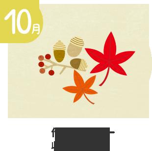 10月 衣替え・作品展