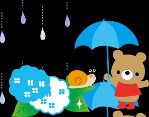 雨 かたつむり