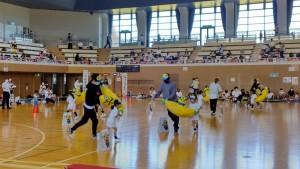 運動会⑨(4歳児親子競技)