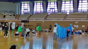 運動会③(0歳児親子競技)