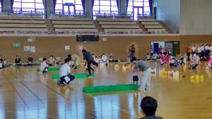 運動会④(1歳児親子競技)