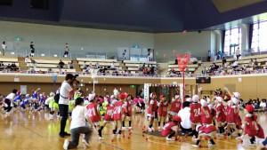 運動会⑩(5歳児クラス対抗ダンシング玉入れ)